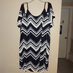 Avenue Chevron dress